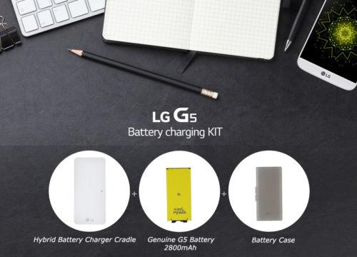 G5 バッテリーとチャージャーとケース