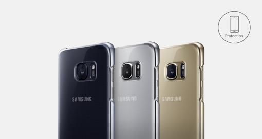 Samsung 純正クリアカバー