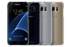 Galaxy S7 edge クリアカバー